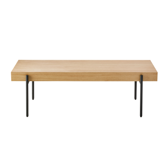 STEEL&WOOD LIVING TABLE